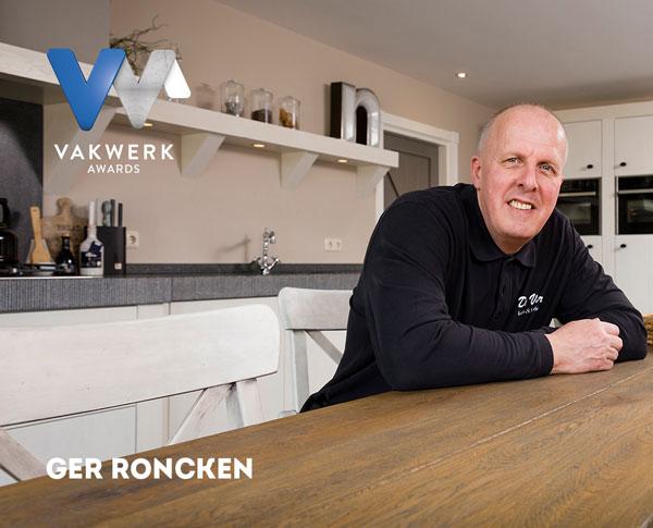 Vakwerk Awards genomineerde Ger Roncken